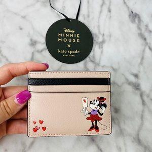 Kate Spade Minnie Mouse Disney Cardholder Wallet